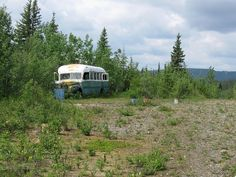 The Stampede Trail, Alaska (visit the [in]famous bus) I know I would cry so hard
