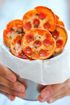 Maak je eigen mini pizzaatjes