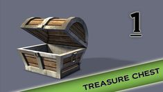 Autodesk Maya 2013 Tutorial - Treasure Chest Modeling, Texturing, lighti...