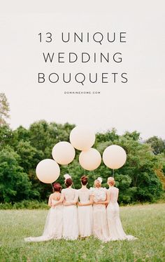 How to stand out from the traditional wedding bouquet crowd