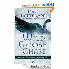 Wild Goose Chase: Reclaim the Adventure of Pursuing God by Mark Batterson -- was very blessed and inspired by this book!