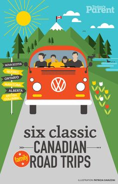 We criss-crossed Canada to find your favourite summer journeys. These routes won't break the bank and were designed with kids in mind. So pack up the car, get on the road and make some memories together—it's a great way to see the country.