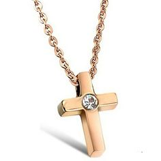 Virgin Shine Stainless Steel Rhinestone Eye Cross Pendant Necklace VIRGIN SHINE http://www.amazon.com/dp/B00N9NVIHE/ref=cm_sw_r_pi_dp_zFNrub0KZKE8N