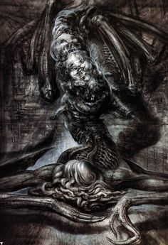 H R Giger....this shit's insane!