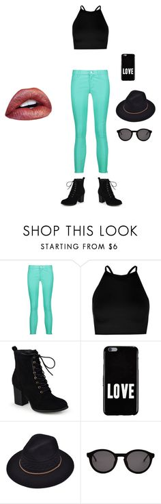 """Turquoise"" by kingcobra2323 ❤ liked on Polyvore featuring beauty, J Brand, Boohoo, Journee Collection, Givenchy and Thierry Lasry"