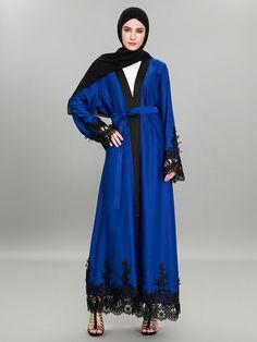 Dresses Fine Oten 2018 Elegant Muslim Abaya Dress Cardigan Long Robes Kimono Jubah Ramadan Arabic Dubai Turkish Thobe Islamic Prayer Clothing