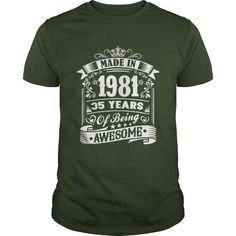 Made in 1981 #born #1981 #gift #ideas #Popular #Everything #Videos #Shop #Animals #pets #Architecture #Art #Cars #motorcycles #Celebrities #DIY #crafts #Design #Education #Entertainment #Food #drink #Gardening #Geek #Hair #beauty #Health #fitness #History #Holidays #events #Home decor #Humor #Illustrations #posters #Kids #parenting #Men #Outdoors #Photography #Products #Quotes #Science #nature #Sports #Tattoos #Technology #Travel #Weddings #Women
