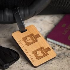 Labels Travel Accessories Traditional Hexagonal Tiles 1,2 /& 4 Pack Leather Luggage Tag Printed Luggage Tag