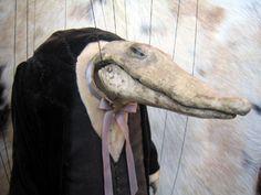 crocodile puppet, the fortune teller, phantom limb, Erik Sanko