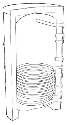 Ballon chauffe-eau solaire 1000 litres 1 échangeur
