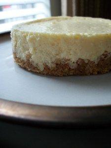 The Perfect Cheesecake - mini springform pans