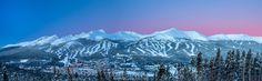 Breckenridge at Dawn Colorado [OC][OS][1920x598]