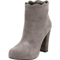 #Shoes #Apparel Charlotte Ronson 8955 Womens Dimphy Gray Booties Shoes 10 Medium (B,M) BHFO #Christmas #Gifts