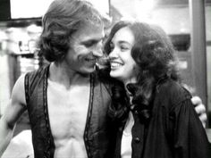 Michael Beck and Deborah Van Valkenburgh on the set of The Warriors in 1978 Michael Beck, Warrior Movie, Movie Sites, Black And White Love, Dream Boy, Most Popular Memes, About Time Movie, Movie Characters, The Walking Dead