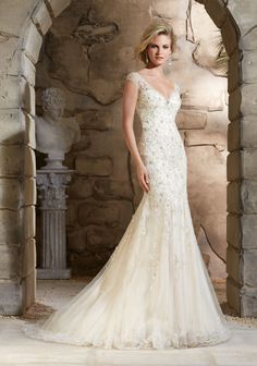 25 Spectacular & Sparkly Wedding Dresses