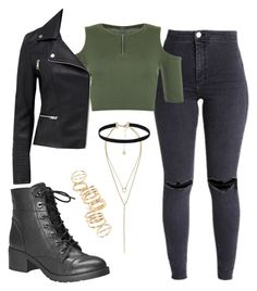 Designer Clothes, Shoes & Bags for Women Bad Girl Outfits, Teenage Outfits, Outfits For Teens, School Girl Outfit, Cute Comfy Outfits, Edgy Outfits, Pretty Outfits, Girls Fashion Clothes, Teen Fashion Outfits