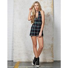 Hearts and Bows Swinsty Tartan Playsuit | ARK Clothing