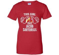 This Girl love Jacob Sartorius NoCustom Ultra Cotton LS Ultra Cotton Tshirt Pullover Hoodie 8 oz Printed Crewneck Pullover Sweatshirt 8 oz Tank Top Mens Printed V-Neck T Long Sleeve Moisture Absorbing
