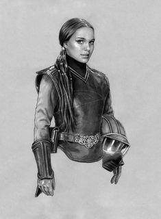 Star Wars - Pilot Padme by jasonpal on deviantART 10/38
