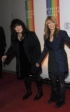 They look awesome very Rock n Roll chic....  Twitter / officialheart: Rocked the Kennedy Center Honors last night with the Zeppelin classic Stairway to Heaven #HeartFanatic #Zeppelin