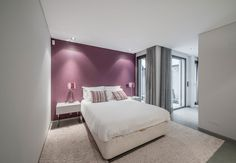 Purple and gray bedroom teal purple and grey bedroom pink and gray bedroom decor pictures Grey Colour Scheme Bedroom, Purple Bedroom Design, Grey Bedroom Decor, Bedroom Decor For Teen Girls, Purple Interior, Purple Kids Bedrooms, Cream Bedrooms, Modern Bedrooms, Contemporary Bedroom