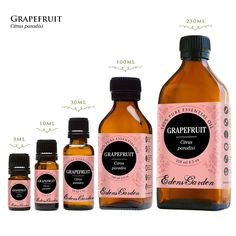 5 amazing uses for Grapefruit Essential Oil that will make you love it as much as we do! It's a disinfectant, fights cellulite, treats acne, and more.