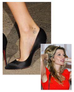 Les tatouages de Gisele Bundchen