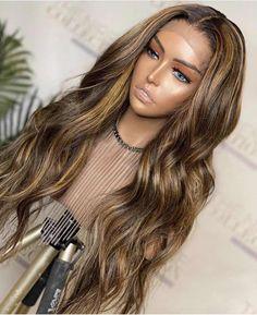 Hair Color Highlights, Balayage Highlights, Blonde Color, Ombre Color, Balayage Hair, Ombre Hair, Human Hair Lace Wigs, Remy Human Hair, Brown Hair Texture