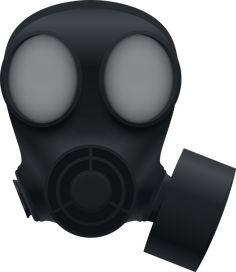 방독면 벡터 이미지입니다.   gas mask  vector image