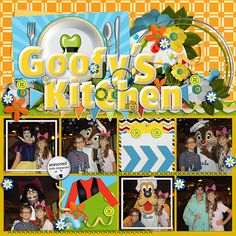 Kits: All Together Now (Kellybell Designs), Don't Ya Love a Parade (Kellybell Designs), A Taste of Magic (Kellybell Designs), Disneyland Dining Word Art (Kellybell Designs) Template: AK Designs