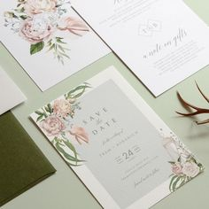 """designki.com on Instagram: """"Floral Theme Save the Date on textured paper🌷👩💻designed + printed by @design.ki . . #weddinginvitations #weddinginvites #weddinginvitation…"""" Modern Wedding Invitations, Wedding Invitation Cards, Invites, Graphic Design Print, Floral Design, Melbourne Wedding, Floral Theme, Save The Date Cards, Paper Design"""