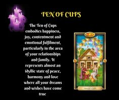 Tarot Learning, Dreaming Of You, Wish, Cups, Relationship, Peace, Joy, Happy, Mugs