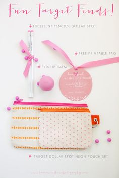 First Day of School Gift from Target and Free Printable Tags :: Teacher Gift » Phoenix, Scottsdale, Chandler, Gilbert Maternity, Newborn, Child, Family and Senior Photographer |Laura Winslow Photography {phoenix's modern photographer}