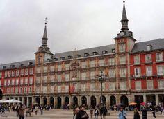 Casa de la Panadería en la Plaza Mayor de Madrid.