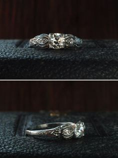 love antique rings