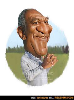 Caricatura de Bill Cosby.