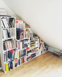 Diy Crate wood books bookshelf