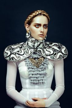 Kendra A and Claire B by Zhang Jingna for Harper's Bazaar Vietnam December 2012