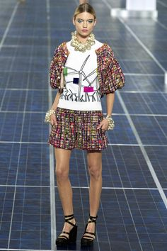 Love this wind turbine! Chanel Spring/Summer 2013|55