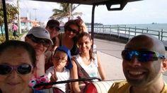 Con la familia maravillosa