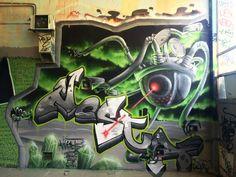 #Nesta632 / #Hista Jam Explosage du gymnase vol 2 the monster of graffiti artists
