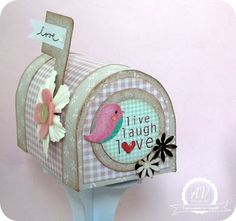 have all family members design their own mailbox and leave it somewhere in the house to encourage family members to leave kind notes and gifts for each other.