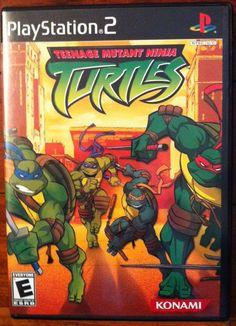 Teenage Mutant Ninja Turtles  (Sony PlayStation 2, 2003)