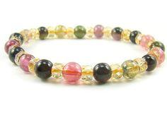 BA9908 Multicolors Tourmaline Natural Crystal Stretch Bracelet - See more at: http://waggashop.com/wagga-shop-ba9908-multicolors-tourmaline-natural-crystal-stretch-bracelet