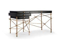 LOVE LVOE this. Glithero | Les French Desk | 2012, Bronze, walnut, gum paper | Unique | UK