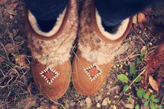 minnetonka boots @Minnetonka Moccasin