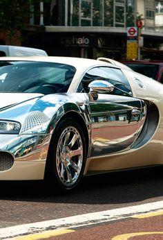 Bugatti Veyron Chrome