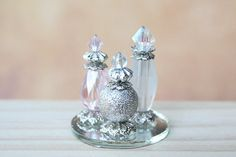 Miniature Perfume Bottles  Doll Accessories by RosenWhispers
