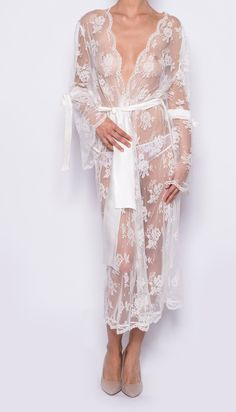 Aida Long Robe by Sonata Rapalyte