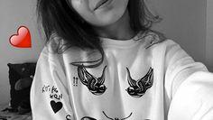 baby, snapchat, and birds użytkownika marty.love   We Heart It